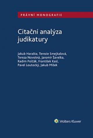 Citační analýza judikatury [E-kniha]